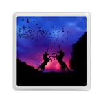Unicorn Sunset Memory Card Reader (Square)
