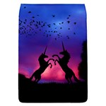 Unicorn Sunset Removable Flap Cover (S)
