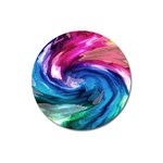Water Paint Magnet 3  (Round)