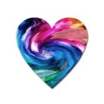 Water Paint Magnet (Heart)