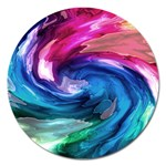 Water Paint Magnet 5  (Round)