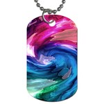 Water Paint Dog Tag (One Side)