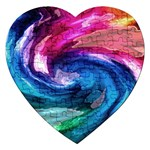 Water Paint Jigsaw Puzzle (Heart)