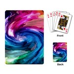 Water Paint Playing Cards Single Design