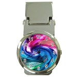 Water Paint Money Clip Watch