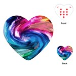 Water Paint Playing Cards (Heart)