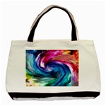 Water Paint Basic Tote Bag