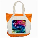 Water Paint Accent Tote Bag