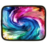 Water Paint Netbook Case (Large)