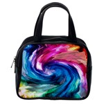 Water Paint Classic Handbag (One Side)