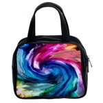 Water Paint Classic Handbag (Two Sides)