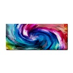 Water Paint Hand Towel