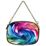 Water Paint Chain Purse (One Side)