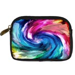 Water Paint Digital Camera Leather Case