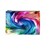 Water Paint Cosmetic Bag (Large)