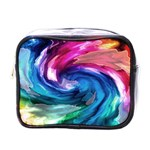 Water Paint Mini Toiletries Bag (One Side)