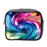 Water Paint Mini Toiletries Bag (Two Sides)