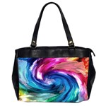 Water Paint Oversize Office Handbag (2 Sides)