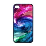 Water Paint iPhone 4 Case (Black)