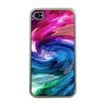 Water Paint iPhone 4 Case (Clear)