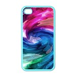Water Paint iPhone 4 Case (Color)