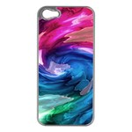 Water Paint iPhone 5 Case (Silver)
