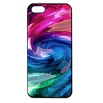 Water Paint iPhone 5 Seamless Case (Black)