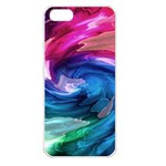 Water Paint iPhone 5 Seamless Case (White)