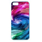 Water Paint Apple Seamless iPhone 5 Case (Color)