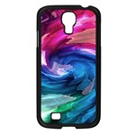 Water Paint Samsung Galaxy S4 I9500/ I9505 Case (Black)