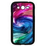 Water Paint Samsung Galaxy Grand DUOS I9082 Case (Black)