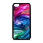 Water Paint iPhone 5C Seamless Case (Black)