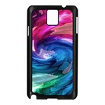 Water Paint Samsung Galaxy Note 3 N9005 Case (Black)