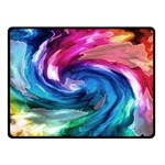 Water Paint Double Sided Fleece Blanket (Small)