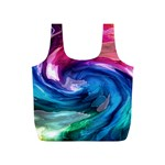 Water Paint Full Print Recycle Bag (S)