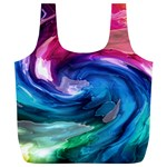 Water Paint Full Print Recycle Bag (XL)