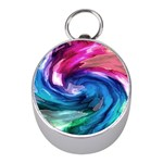 Water Paint Silver Compass (Mini)