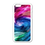 Water Paint iPhone 6/6S White Enamel Case