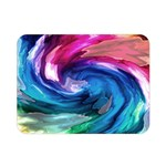Water Paint Double Sided Flano Blanket (Mini)
