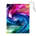 Water Paint Drawstring Pouch (XXL)