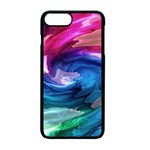 Water Paint iPhone 7 Plus Seamless Case (Black)