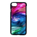 Water Paint iPhone 7 Seamless Case (Black)