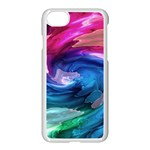 Water Paint iPhone 7 Seamless Case (White)