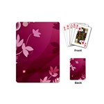 Pink Flower Art Playing Cards (Mini)