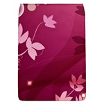 Pink Flower Art Removable Flap Cover (L)