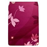 Pink Flower Art Removable Flap Cover (S)