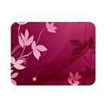 Pink Flower Art Double Sided Flano Blanket (Mini)