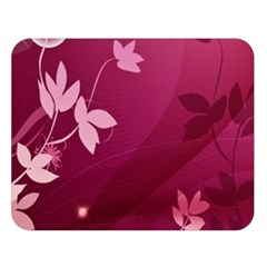 Pink Flower Art Double Sided Flano Blanket (Large) from ArtsNow.com 80 x60  Blanket Front