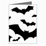 Deathrock Bats Greeting Card