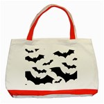 Deathrock Bats Classic Tote Bag (Red)